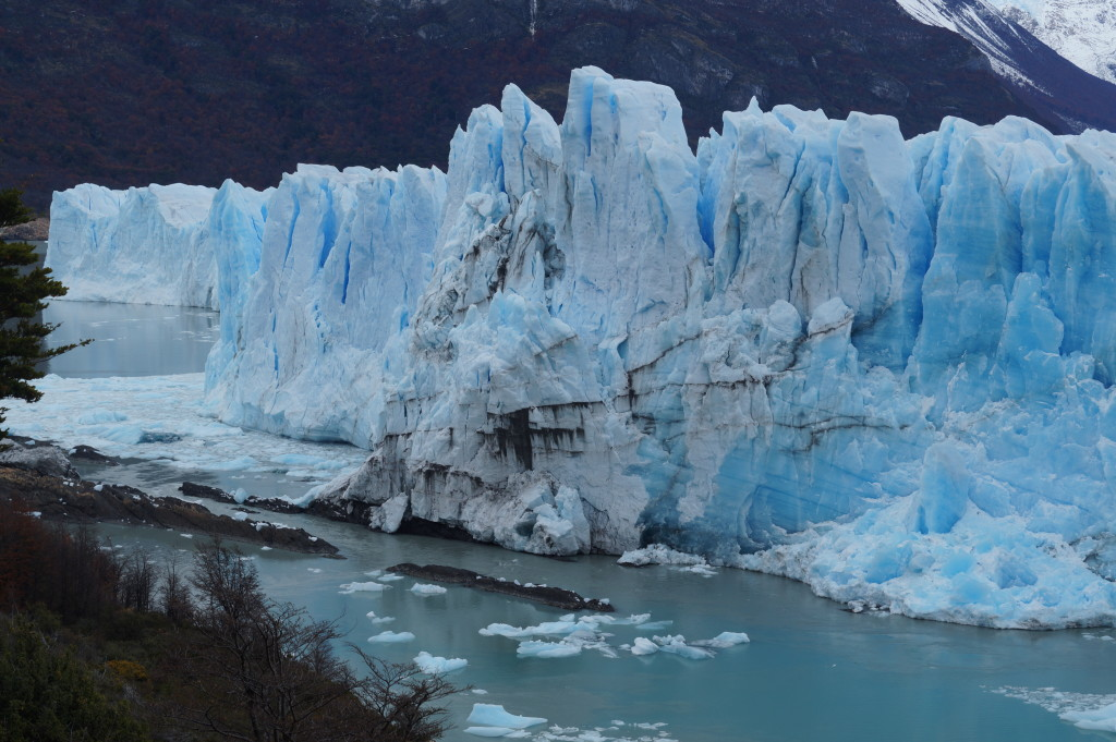 El Calafate and the majestic piece of Ice
