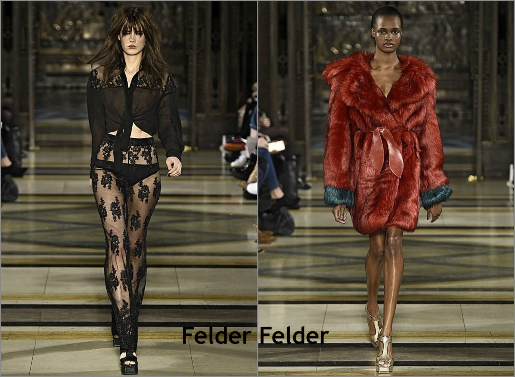felder felder london fashion week