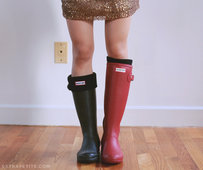 How to wear tall boots for petite